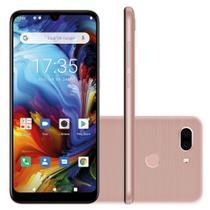 "Smartphone Philco Hit Max PCS02RG 128GB 4GB RAM 6"" Câmera Dupla 12MP + 12MP 4G Android 10  Rosa -"