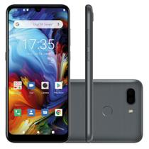 "Smartphone Philco Hit Max PCS02SG 128GB 4GB RAM 6"" Câmera Dupla 12MP + 12MP 4G Android 10  Cinza -"