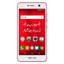 Smartphone Positivo S531 Twist Metal, Dual chip, 8MP, 5.2