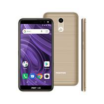 "Smartphone Positivo Twist 2, Dourado, S512, Tela de 5.34"", 16GB, 8MP -"