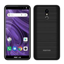"Smartphone Positivo Twist 2, Dual Chip, Preto, Tela 5.34"", 3G+WiFi, Android 8.1, 5MP, 16GB -"