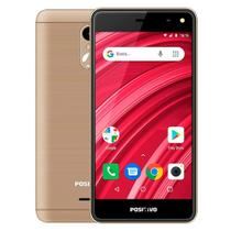 "Smartphone Positivo Twist 2 Fit, Dourado, S509, Tela de 5.0"", 8GB, 5MP -"