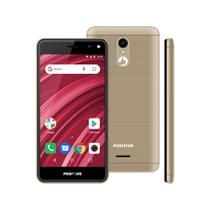 Smartphone Positivo Twist 2 Fit S509 Quad-Core Dual Chip Android Oreo 5 - Dourado