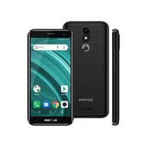 Smartphone Positivo Twist 2 Go S541 Quad-Core 1GB Ram Dual Chip Android Oreo 5'' 8gb- Preto -