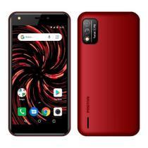 """Smartphone Positivo Twist 4 Fit, Vermelho, Tela de 5"""", 3G+Wi-Fi, Câm. Tras. de 8MP, Frontal de 5MP, 32GB -"""