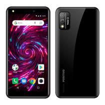 "Smartphone Positivo Twist 4, Preto, Tela de 5.5"", 3G+Wi-Fi, Câm. Tras. de 8MP, Frontal de 8MP, 64GB -"