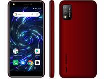 "Smartphone Positivo Twist 4 Pro 64GB Vemelho 4G - Octa-Core 1GB RAM Tela 5,5"" Câm. 8MP + Selfie 5MP"