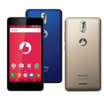 "Smartphone Positivo Twist M S520, 3G, 5"", Android 6.0, 16GB, 8MP - Azul"