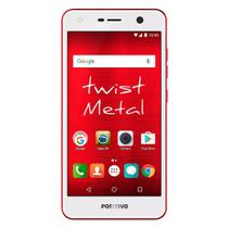 """Smartphone Positivo Twist Metal ,Vermelho, S531, Tela de 5.2"""", 32GB, 8MP -"""