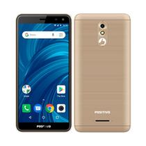 "Smartphone Positivo Twist Pro, 5.7"", 3G+WiFi,  8MP, 32GB - Dourado -"