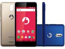"Smartphone Positivo Twist S520 8GB Azul Dual Chip - 4G Câm. 8MP + Selfie 5MP Tela 5"" Proc. Quad Core"