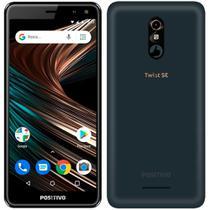 "Smartphone Positivo Twist SE, Dual Chip, Grafite, Tela 5,7"",4G, Câmera 13MP+5MP, Octa Core 1.5Ghz,2GB RAM,32GB -"