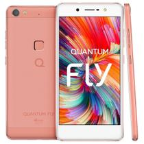 Smartphone Quantum Fly Dual Chip Android 6.0 Tela 5.2 Deca-Core 2.1 GHz 32GB 4G Câmera 16MP - Rosa