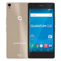 Smartphone Quantum GO 4G 32GB Octacore 2GB RAM Duas Câmeras 13MP Tela HD 5 Android 6.0 -