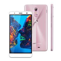 "Smartphone Quantum MÜV PRO Cherry Blossom, 16GB, Dual Chip, 5.5"", 16MP, 4G - Rosa -"