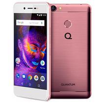 Smartphone Quantum YOU E 32GB Tela 5 Quad-Core Dual SIM 4G Câmera 13MP - Rosa -