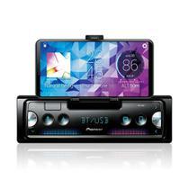 Smartphone Receiver Automotivo Pioneer SPH-C10BT 1Din Conexão Celular Bluetooth USB SD RCA FM -