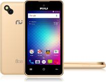 Smartphone Riu Celulares EKO 4.0 Dourado Dual Chip, Câmera, 3G -