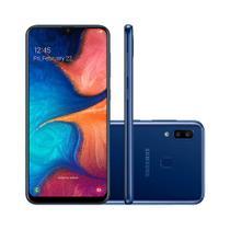 Smartphone Samsung A20 (2019) 32GB  SM-A205G Desbloqueado Azul -