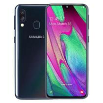 Smartphone samsung a40,  64gb, 4gb ram, camera 16mp+5mp, tela 5.9 fhd amoled