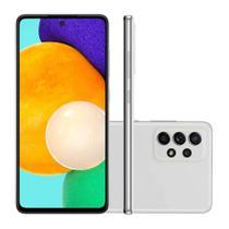 Smartphone Samsung A52 128GB 4G Tela 6.5P Câmera Quádrupla 64MP Selfie 32MP Dual Chip Android 11.0 -