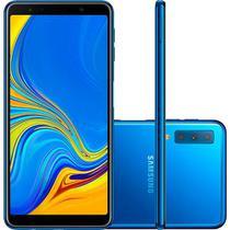 Smartphone Samsung A7 (2018) 128GB A750GN Desbloqueado Dual Chip Azul -