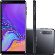 Smartphone Samsung A7 (2018) 128GB A750GN Desbloqueado Dual Chip Preto -