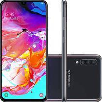 Smartphone Samsung A70 128GB A705MN Desbloqueado Dual Chip Preto -
