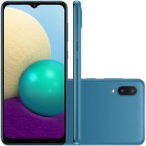 Smartphone Samsung Galaxy A-02 Octa Core 32GB 3GB Câmera Dupla Quadriband -