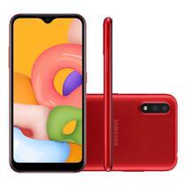 Smartphone Samsung Galaxy A01 32GB Octa Core - Vermelho -