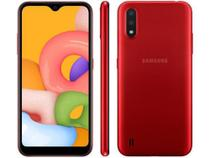 Smartphone Samsung Galaxy A01 32GB Vermelho -