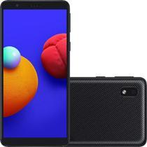 "Smartphone Samsung Galaxy A01 Core - 2GB RAM 32GB Câmera 8MP Tela 5.3"" - Preto -"