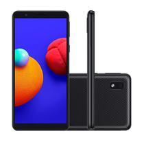 "Smartphone Samsung Galaxy A01 Core 32GB 2GB RAM Câmera 8MP Tela 5.3"" - Preto -"