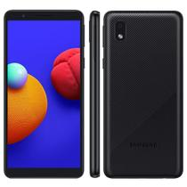 "Smartphone Samsung Galaxy A01 Core Dual Chip Android 10.0 Tela 5.3"" Quad-Core 32GB Wi-Fi Câmera 8MP -"