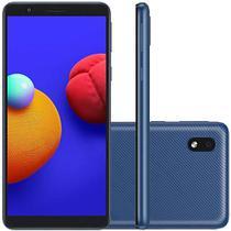 "Smartphone Samsung Galaxy A01 Core Tela 5.3""  32GB Wi-Fi Câmera 8MP - Azul -"