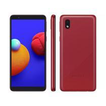 Smartphone Samsung Galaxy A01 Core Vermelho 32Gb Câmera Traseira 8MP SM-A013 -