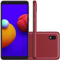 """Smartphone Samsung Galaxy A01 Core Vermelho 32GB, Tela Infinita de 5.3"""" Android GO 10.0, Dual Chip e Processador Quad-Core -"""