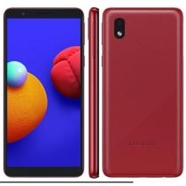 """Smartphone Samsung Galaxy A01 Core Vermelho 32GB, Tela Infinita de 5.3"""" Câmera Traseira 8MP Android GO 10.0, Dual Chip e Processador Quad-Core -"""