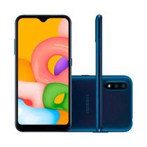 Smartphone Samsung Galaxy A01 Dual Chip 32GB - Azul -