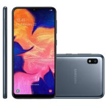 Smartphone Samsung Galaxy A10, 32GB, 13MP, 4G, Dual Chip, Preto - A105M -