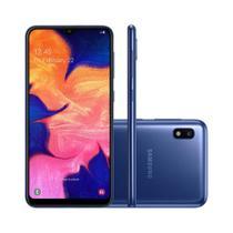 Smartphone Samsung Galaxy A10 32GB 4G Tela 6.2 Câmera Traseira 13MP - Azul -
