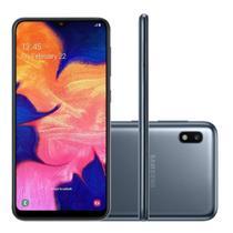 "Smartphone Samsung Galaxy A10 32GB 6.2"" Dual Chip 4G Preto -"