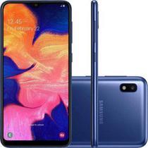 Smartphone Samsung Galaxy A10 32GB A105 Desbloqueado Azul -