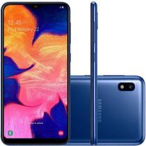 "Smartphone Samsung Galaxy A10 32GB Azul 4G - 2GB RAM 6,2"" Câm. 13MP + Câm. Selfie 5MP -"