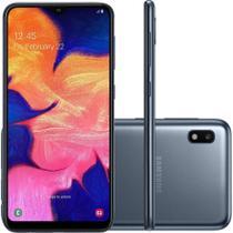"Smartphone Samsung Galaxy A10 32GB Dual Android 9.0 Tela Infinita 6.2"" Octa-Core 1.6GHz 2G RAM Preto -"