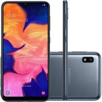 Smartphone Samsung Galaxy A10 32GB Dual Chip 4G Tela 6,2 Câmera 13MP Frontal 5MP Android 9.0 Preto -