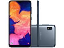 "Smartphone Samsung Galaxy A10 32GB Preto 4G - 2GB RAM 6,2"" Câm. 13MP + Câm. Selfie 5MP"