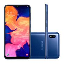Smartphone Samsung Galaxy A10  32GB, Tela Infinita de 6.2- Azul -