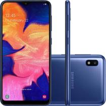 "Smartphone Samsung Galaxy A10, Dual Chip, 6.2"", 4G, Android 9.0, 13MP, 32GB - Azul -"