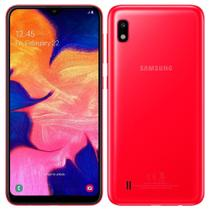 "Smartphone Samsung Galaxy A10, Dual Chip, 6.2"", 4G, Android 9.0, 13MP, 32GB - Vermelho -"